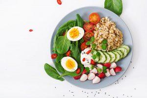 تخم مرغ برای صبحانه رژیمی