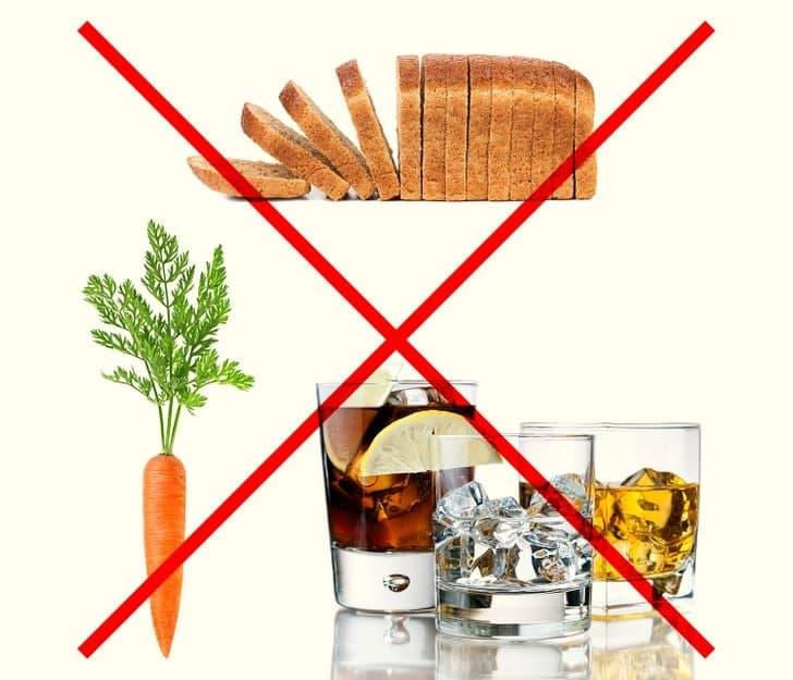 غذاهایی که در رژیم فضانورد باید حذف شود
